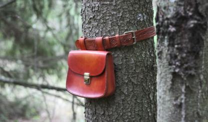 Big and durable belt bag