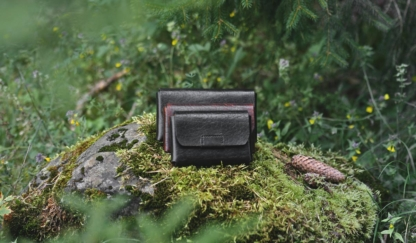 Leather belt bags in various sizes