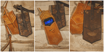 Leather phone bags