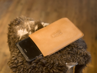 Leather cases for smart devices