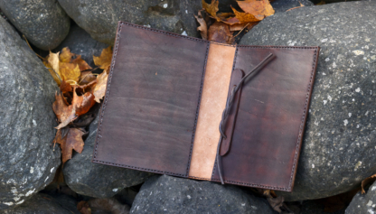 Leather book covers for binding your own book