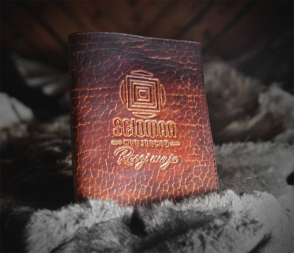Leather covers for guestbook
