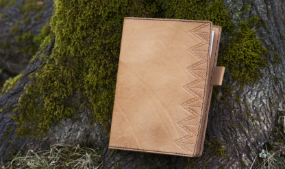 """Notebook covers """"Spruce forest"""""""