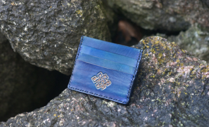 Card case with Endless Knot