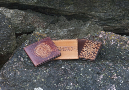 Card cases with eight pockets