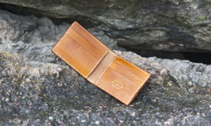 Card wallet with six pockets
