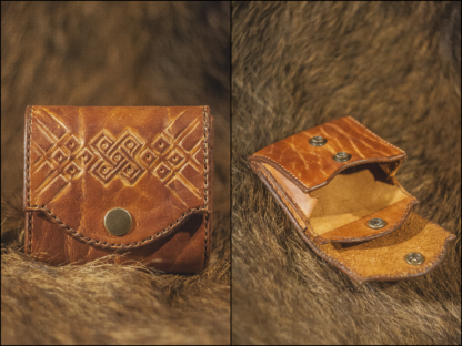 Wallet with viking cross