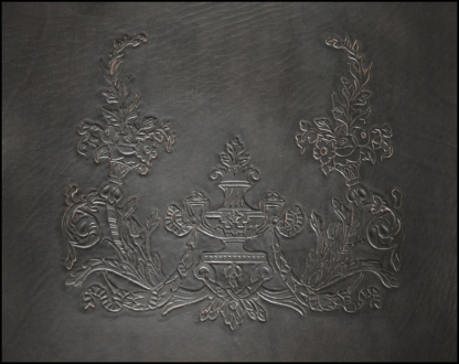 Leather covers for antique chair